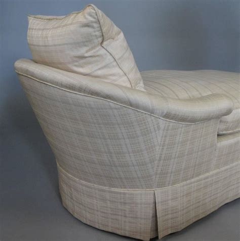 down chaise vintage 1940s down filled chaise lounge at 1stdibs