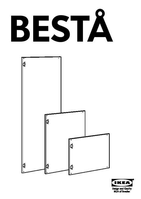 besta instructions best 197 storage combination with doors black brown high