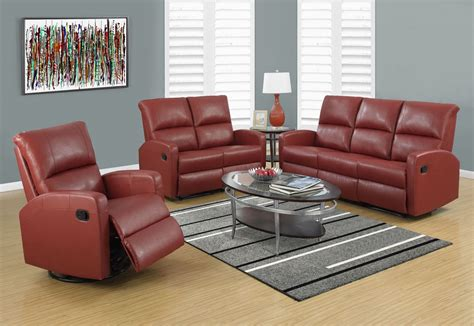 Bonded Leather Recliner Sofa Bonded Leather Reclining Sofa From Monarch Coleman Furniture