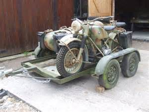 Bmw R75 For Sale Bmw R75 For Sale With Transporter Trailer Sold 1942 On