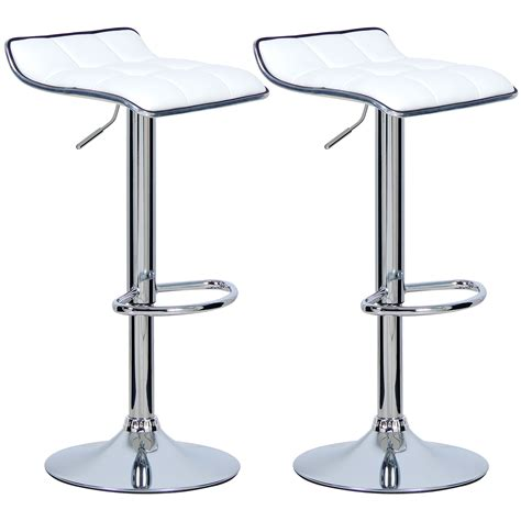 Bar Stool Kitchen Set by Set Of 2 Bar Stools Barstool Breakfast Kitchen Stool Chair