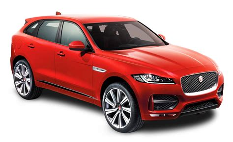 jaguar car png red jaguar f pace car png image pngpix