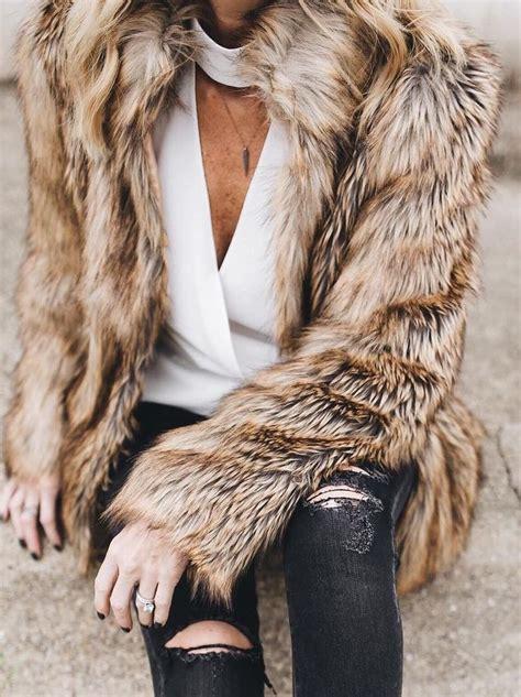 faux fur best 17 best ideas about faux fur vests on white