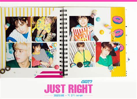 Got7 Just Right Album got7 release pre teaser image 1 for just right mini album kpopfans