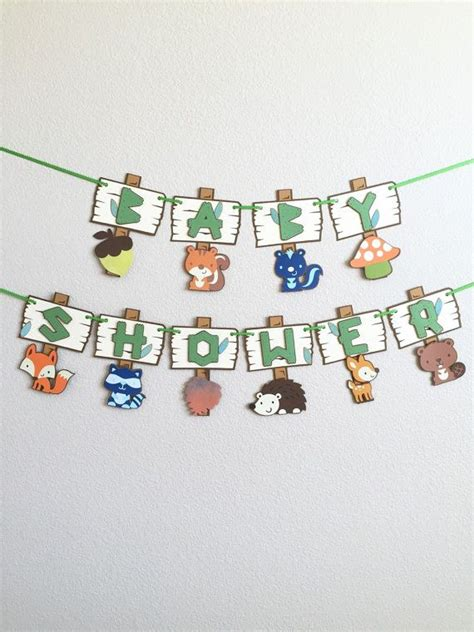 Forest Animal Baby Shower by 1000 Ideas About Forest Baby Showers On