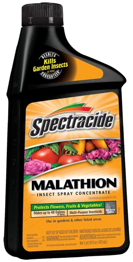 spectracide hg  malathion insect spray concentrate