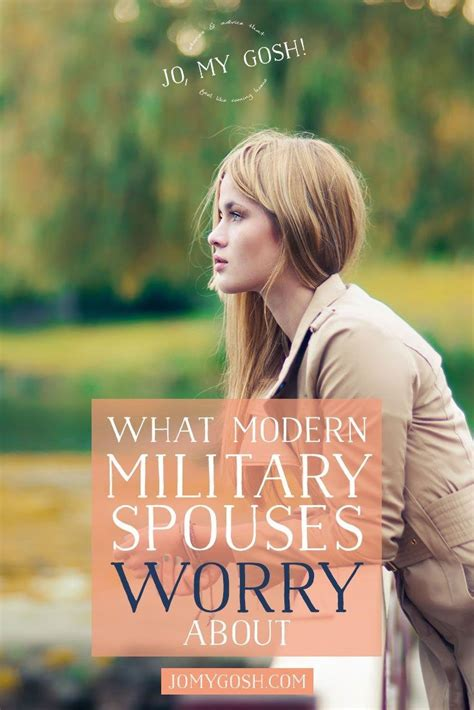modurn pouses what modern military spouses worry about military