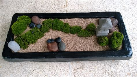 Mini Zen Garden by Black Rectangle Mini Zen Garden Diy Mini Zen Garden