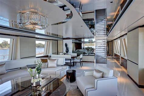 luxury motor yacht como interior yacht charter