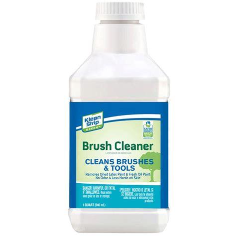 home depot paint brush cleaner klean green 1 qt safer brush cleaner qkgb75012