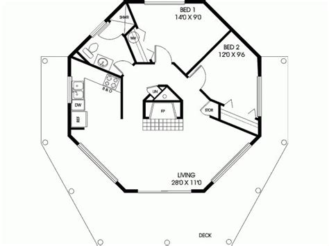 octagon house plans octagon house for the home pinterest