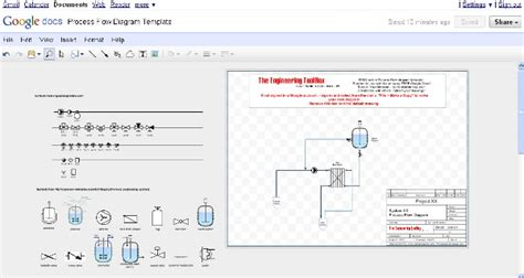 free software to draw process flow diagram pfd process flow diagram drawing tool