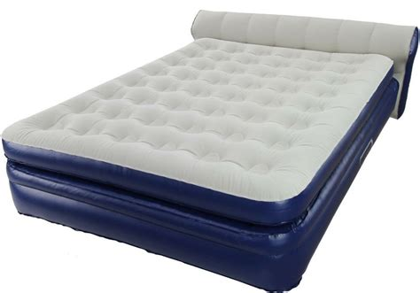 aerobed elevated with headboard air mattress aero bed new 18 inch ebay