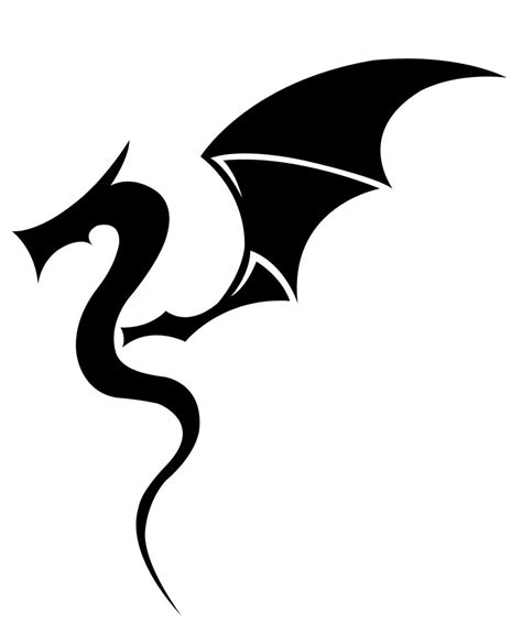 Easy Tattoo Of Dragon | simple dragon tattoo best home decorating ideas