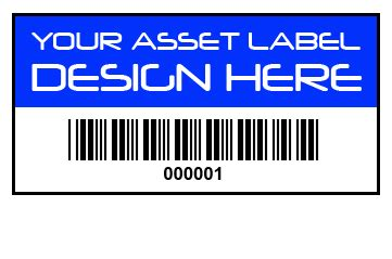 Limited Edition Label Barcode 50 X 20 Mm 2 Line 1 Inch Isi asset labels 38mm x 20mm budget self adhesive pp