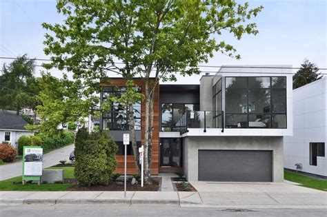 modern home design vancouver bc white rock house modern exterior seattle by method