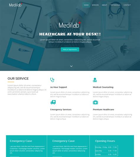 basic bootstrap themes free download medilab free medical bootstrap theme bootstrapmade
