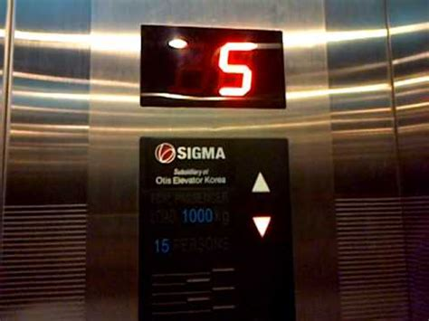 Elevator Sigma Hotel Formule 1 Jakarta Cikini Sigma Elevator