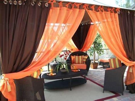 patio pizazz indoor outdoor gazebo drapes curtains price