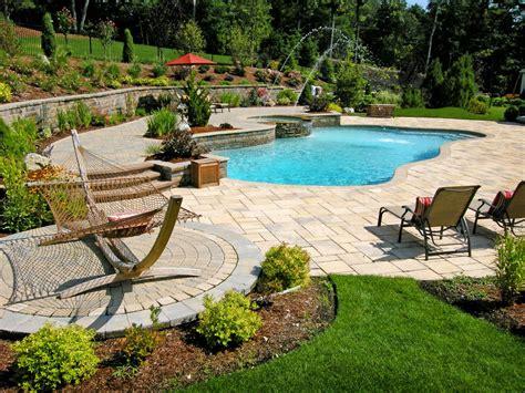 patio and pool beautiful swimming pool patios triad associates