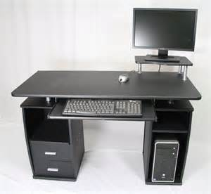 Computer Desk Keyboard Drawer Home Office Computer Desk With 2 Drawers Keyboard Shelf