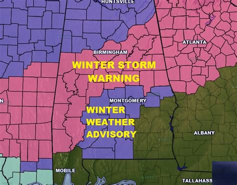 winter storm warning and winter weather advisory in effect until 4 20 storm update wintry mix moving in rich thomas