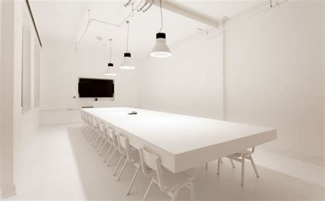 Large White Meeting Table Top Cheap Screening Rooms In From Headbox