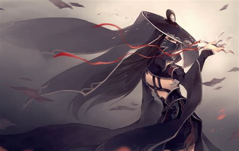 anime assassin girl wallpaper anime anime girls weapon hat assassin original