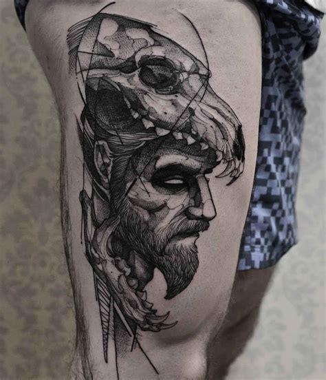 mens skull tattoo designs the 110 best skull tattoos for improb