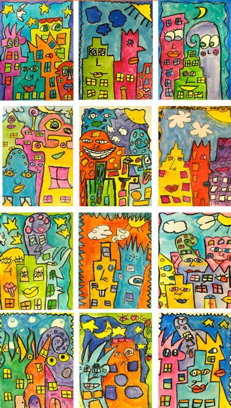 ideas for ks2 art lessons james rizzi art lessons deep space sparkle