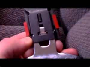 how to fix a broken or stuck seat belt youtube