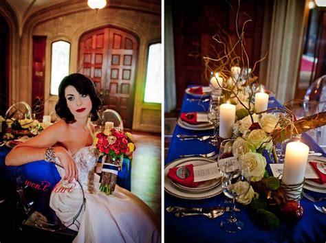snow white theme wedding inspiration the blue an theme colors http www