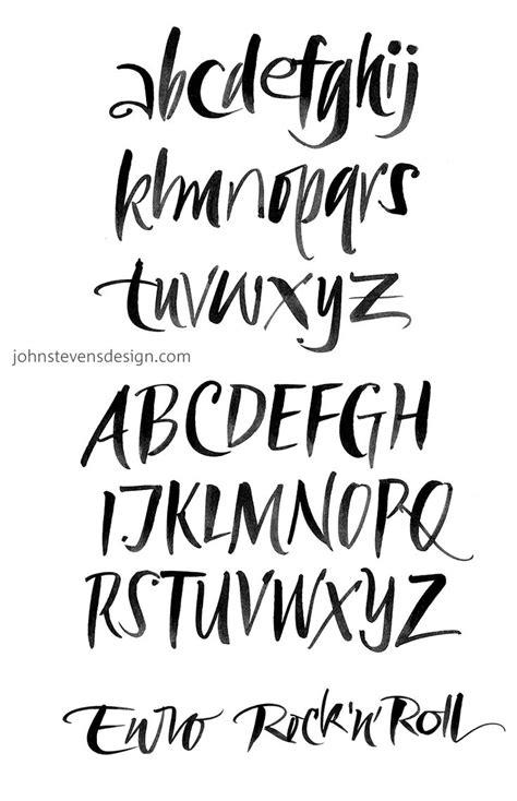 typography practice die besten 17 ideen zu kalligraphie alphabet auf