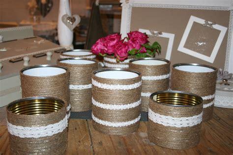 vases pour d 233 coration table mariage ch 234 tre boheme jute