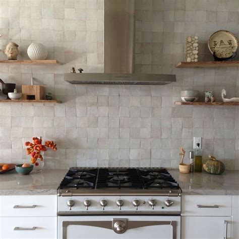 Moroccan Tiles Kitchen Backsplash Why You Ll Be Seeing Zellige Tiles Everywhere In 2016 Woods Weaves