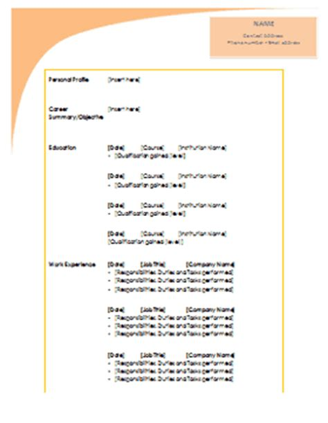 fancy resume templates fancy resume templates word resume ideas