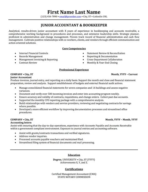 Accounting Resumes by Accounting Auditing Bookkeeping Resume Sles