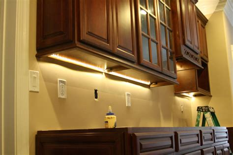 the cabinet light cabinet lighting options designwalls