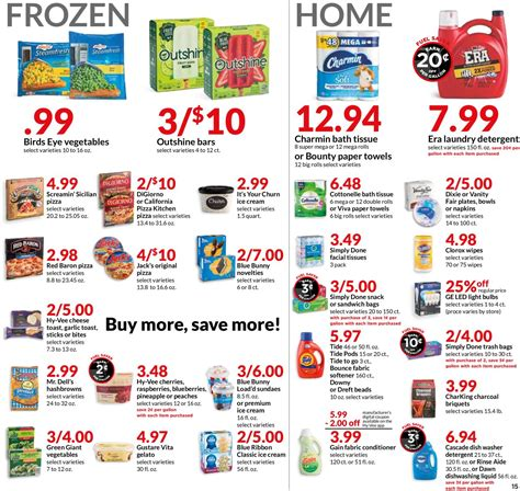 hyvee current weekly ad    frequent adscom