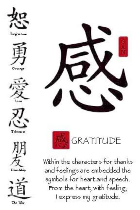 The Chinese Calligraphy of Gratitude | Visualizations ...
