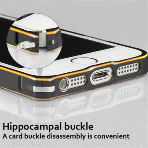Bumper List Gold Iphone 5 metal bumper for iphone 5 black gold