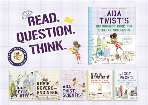 ada twist scientist pre release giveaway a mighty win 1 of 2 sets of ada twist s big project book for stellar scientists stem series