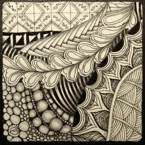 doodle pattern tiles zentangle tile graphisme pinterest tile and zentangle