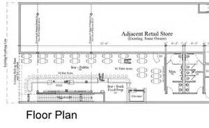 Pizza Shop Floor Plan by 322 Tavern Plans Include Rooftop Deck Fremont Street