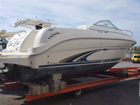 boat weekender sea ray 245 weekender boats for sale boats