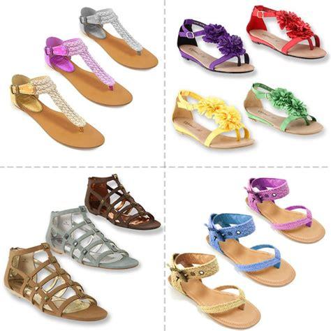 Flat Salem List Silver New Arival flat sandals for summer footwear designs 2015