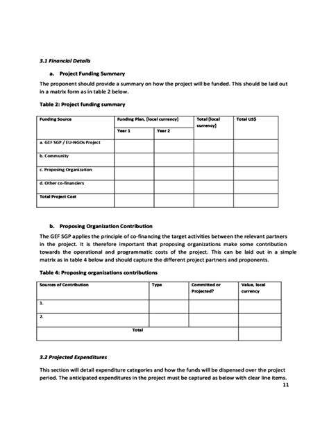 proposal format ngo proposal format for ngo project eu ngos project proposal