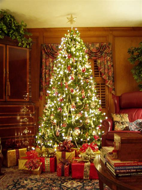Decorated Trees - tree decoration ideas interior design