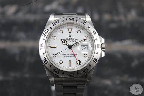 Rolex Stahlband Polieren by Verkauft Rolex Explorer Ii 16550 Von 1987 Watch Old Times