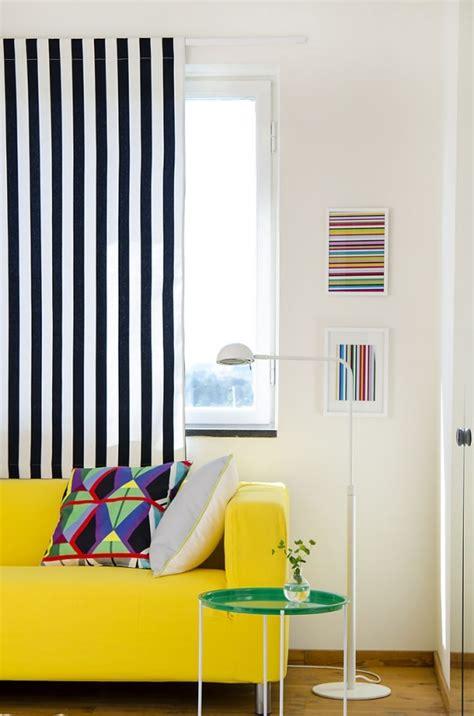 gardinen schwarz weiß gestreift 38 ideen f 252 r gardinen und vorh 228 nge wohnlichkeit zu hause